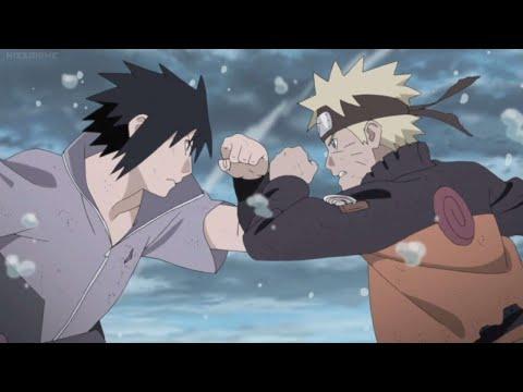 Naruto Vs Sasuke  Full Fight HD 60FPS Max Quality English Dub  Final BattleEnding 1080pFH 1