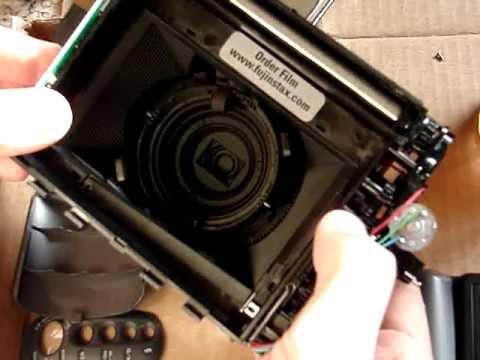 Fuji Instax 210 torn down