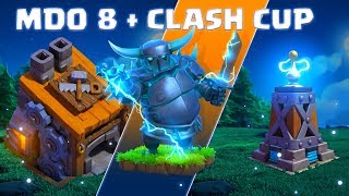 Clash of Clans   💥 Base des ouvriers 8 💥 + Finale Clash Cup   MDO 8 Pekka 7