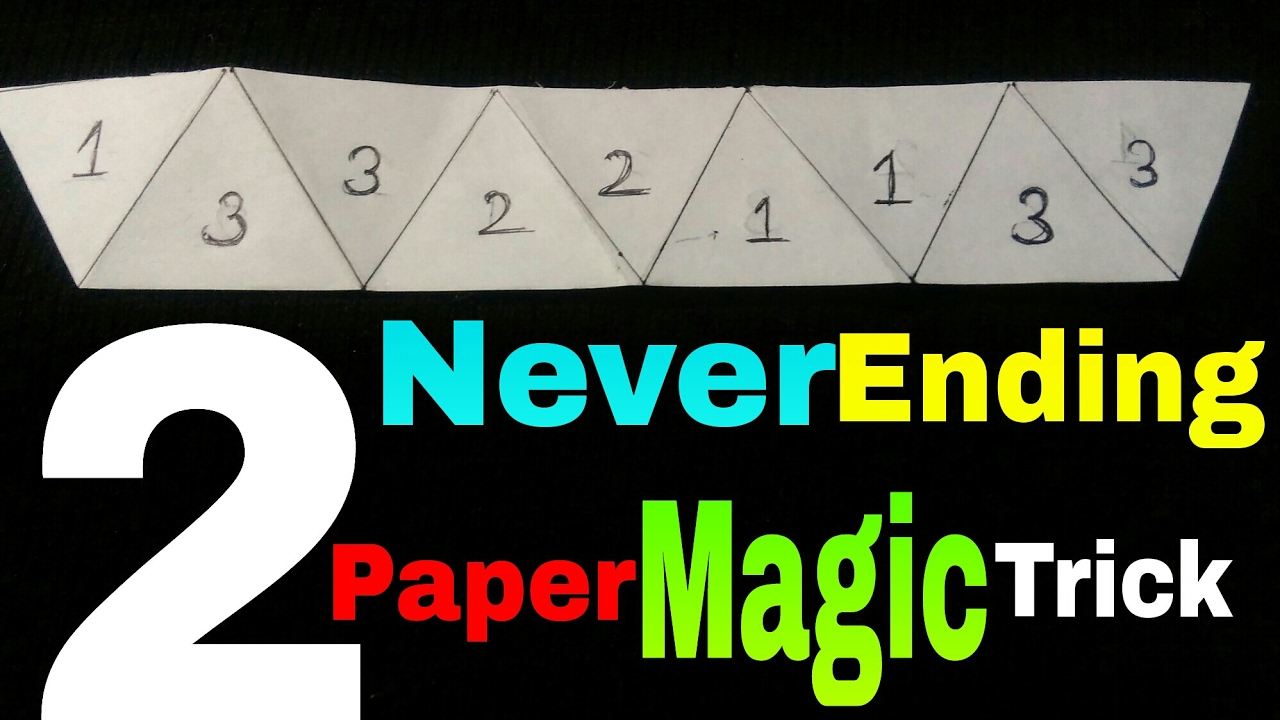 -- 12 pack magic trick DIY how 2 never ending paper from the mouth TRICK -