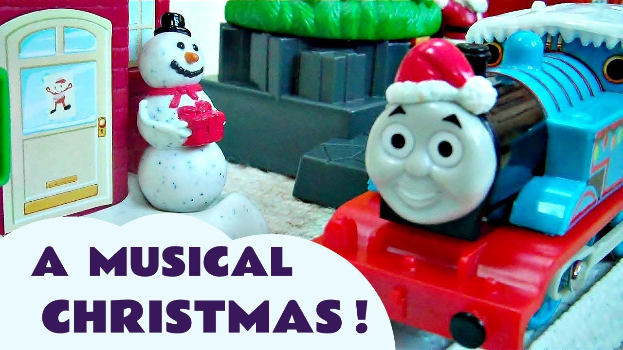 Christmas Delivery Thomas The Tank Engine Trackmaster Train Set ...