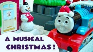 Christmas Delivery Thomas The Tank Engine Trackmaster Train Set Kids Toy Thomas The Tank Engine
