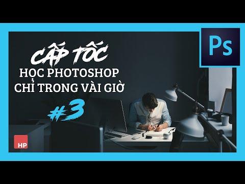 """Tự học Photoshop Cấp Tốc - BÀI 3 - Cắt ghép người qua nền khác - du lịch """"ảo"""""""