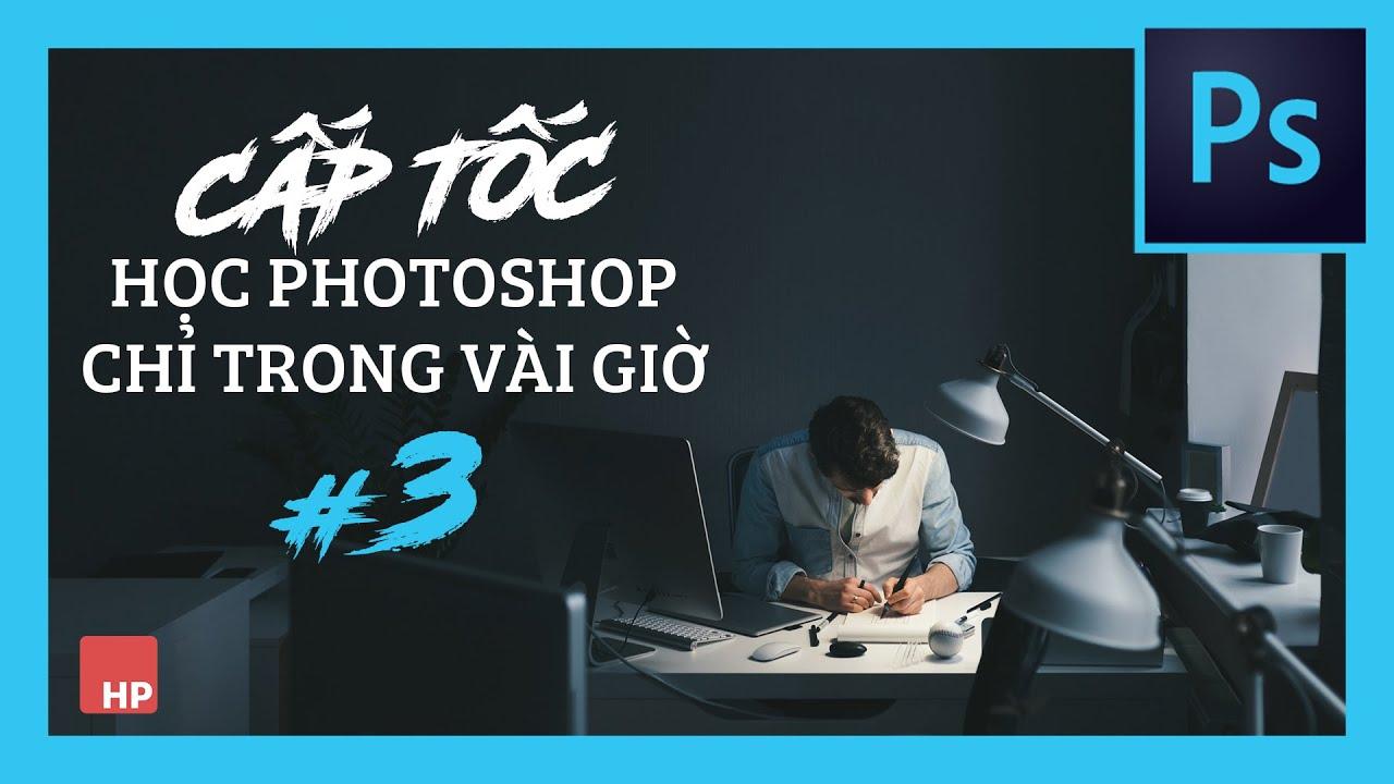 """Tự học Photoshop cấp tốc – BÀI 3 – Cắt ghép người qua nền khác – du lịch """"ảo"""""""