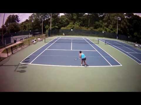 Sabrina Jiang Southern Level 3 tennis match 05242014 12