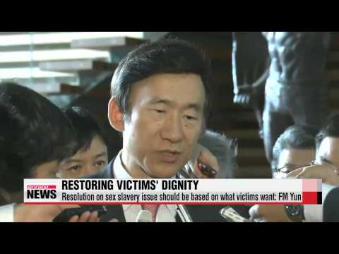Any resolution on sex slavery issue should be based on what victims want: FM Yun