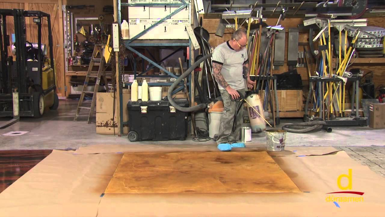How to install Stampable Concrete Overlay - Part 4
