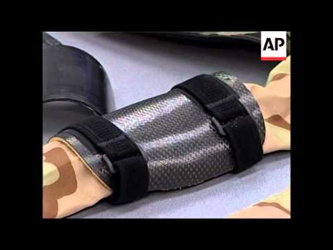 New body armour to protect soldiers' arms and legs