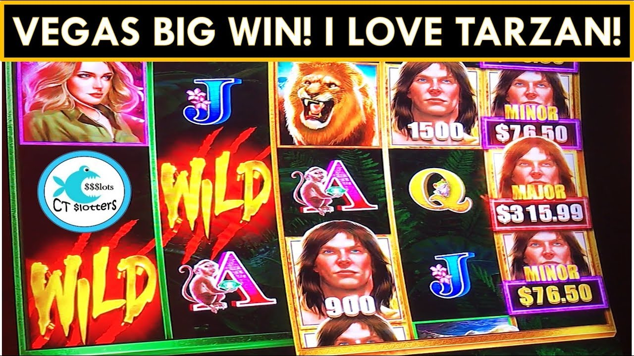 Tarzan Grand Slot Machine