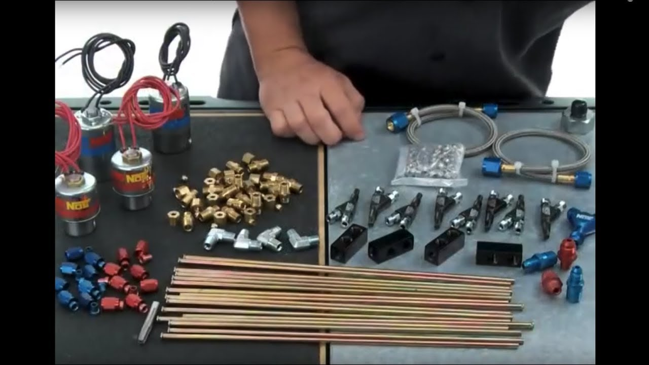 How To Install A Direct Port Nos Nitrous Oxide System Youtube 2 Stage Wiring Diagram Schematic