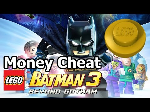 LEGO Batman 3: Beyond Gotham - Easy Unlimited STUD Money Cheat / Trick