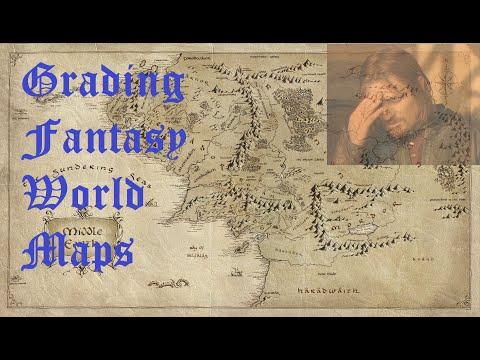 Grading Fantasy World Maps