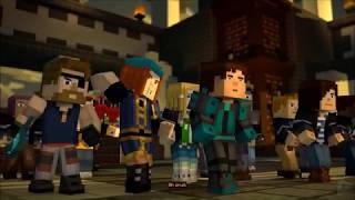 Warriors - Imagine Dragons ( Mincraft: Story Mode AMV )