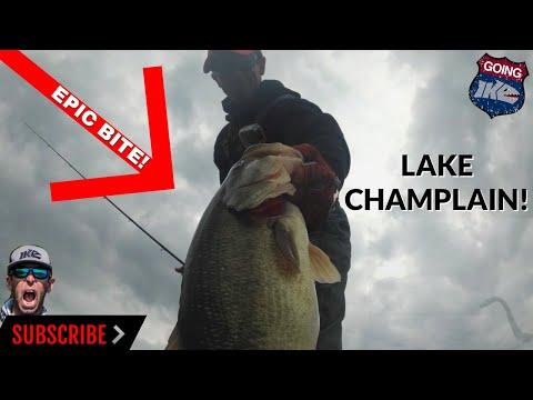 Going Ike Raw: LAKE CHAMPLAIN!
