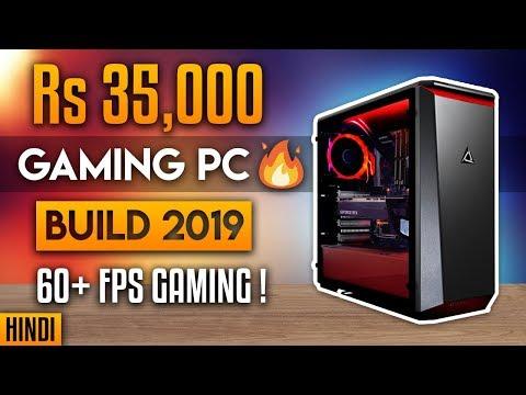 🔥Rs 35000 Gaming PC Build | Budget Gaming PC Build 2019 | (Hindi) thumbnail