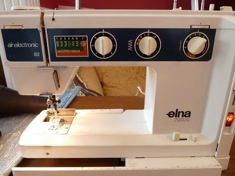 Repair An Elna Air Electronic SU Stuck In One Stitch Length YouTube New Elna Air Electronic Tsp Sewing Machine Manual
