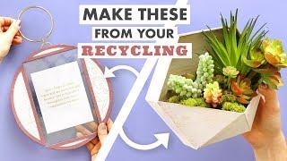 2 Trendy DIY Room Decor Ideas (Made From Your Recycling!) - HGTV Handmade
