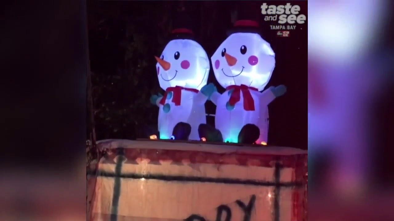 Oakdale Christmas Light Display in St. Petersburg, Florida | Taste ...