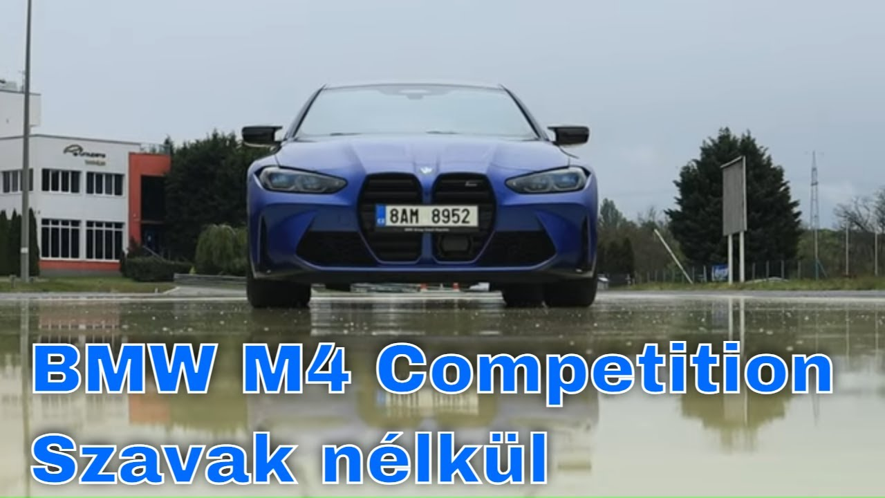 BMW M4 Competition hangulat videó - AutóSámán