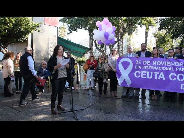 Manifiesto con motivo del Día internacional contra la violencia de género