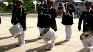 banda de guerra honor y lealtad marcha brasil aguascalientes 2012 wmv