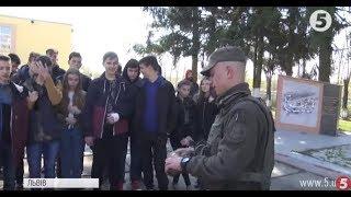 Львівські школярі відвідали військову частину підрозділу НГУ: подробиці