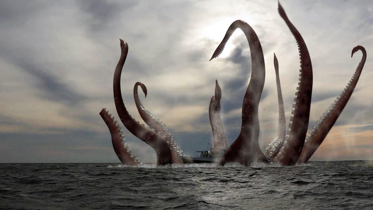 Riesenkrake Tiefsee