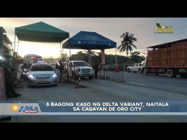 8 bagong kaso ng Delta Variant, naitala sa Cagayan de Oro City