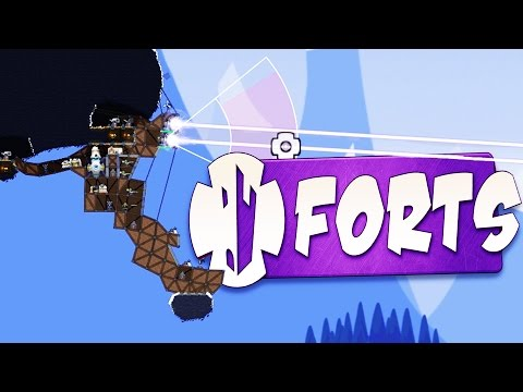 Hanging Forts! - Forts Gameplay - Forts Skirmish