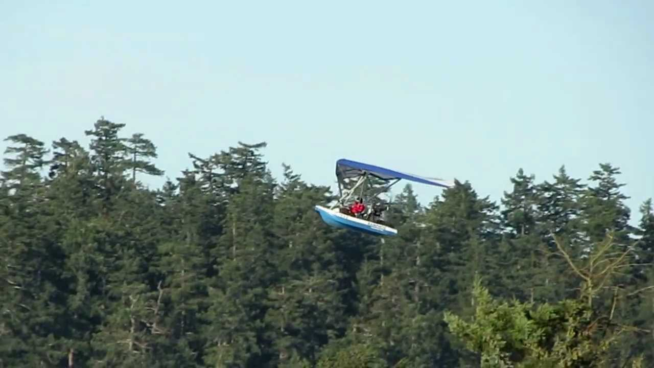 Flying Boat Landing In Campbell River, British Columbia Canada,