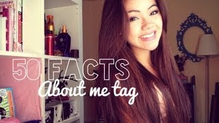50 Facts About Me Tag | viviannnv