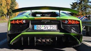 Lamborghini Aventador SV Sounds!