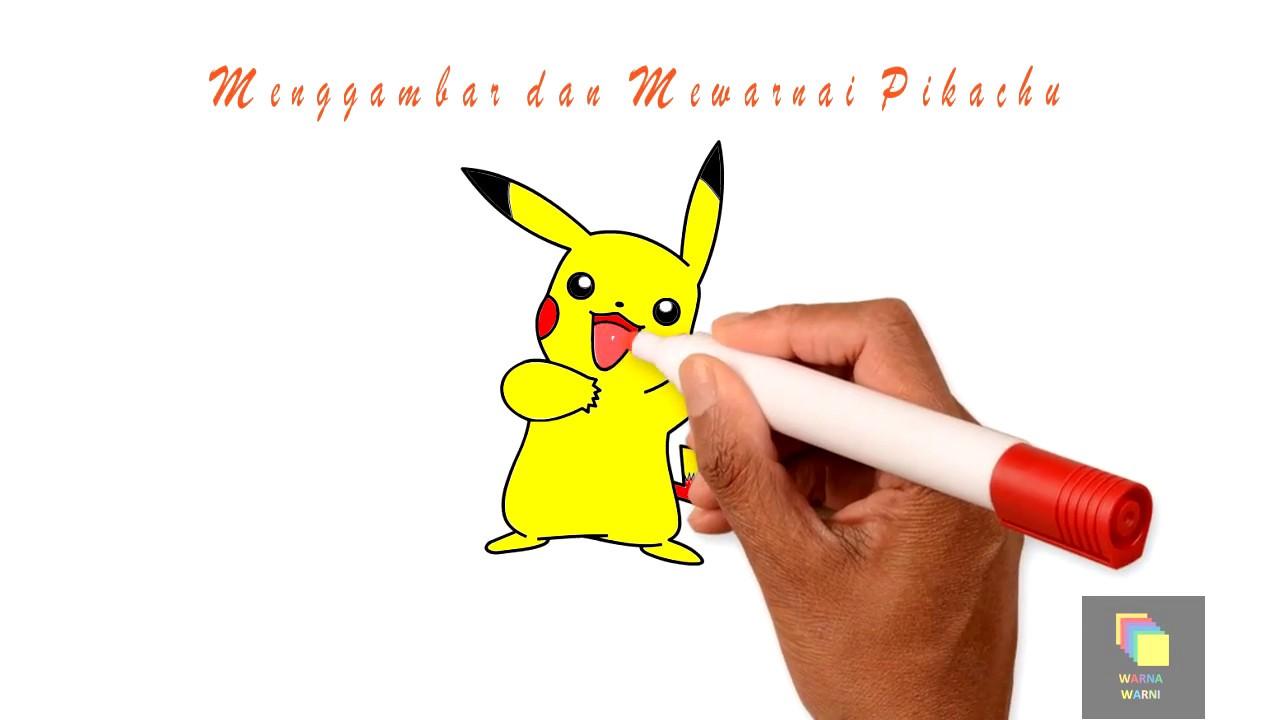 Pokemon Detective Pikachu Menggambar Mewarnai Untuk Anak Bahasa
