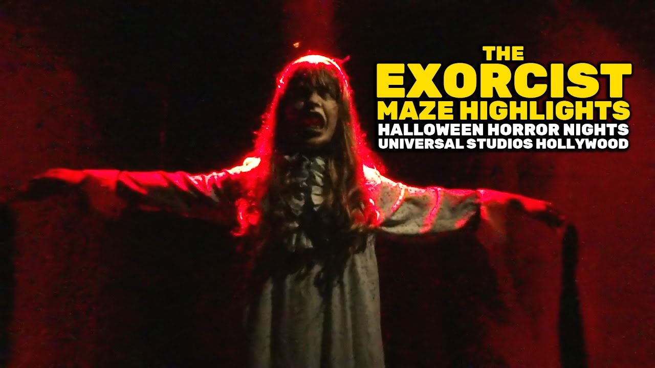 The Exorcist maze highlights at Halloween Horror Nights 2016 ...