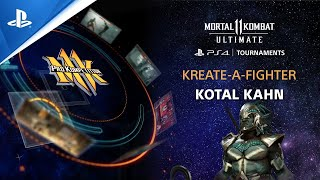 Mortal Kombat 11 Ultimate - Kreate-A-Fighter Kotal Kahn (Biohazard) | PS CC