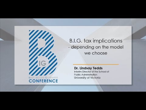 BIG Conference 2016 - Dr. Lindsay Tedds