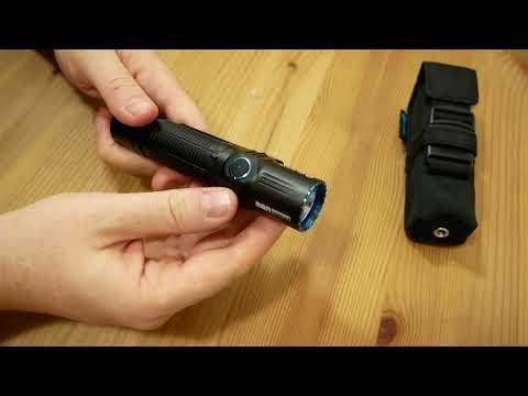 Olight M2r Warrior Led Taschenlampe Cree Xhp 35 1500 Lumen Tactical Flashlight Licht Youtube