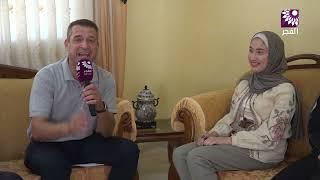 لقاء الطالبة تالا عوض عبد قيسي 99 الفرع العلمي