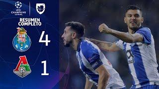 Porto 4-1 Lokomotiv - GOLES Y RESUMEN - Grupo D - UEFA Champions League