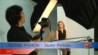 LIGHTING FASHION : Studio Portrait Photography workshop with Anton Oparin, Jeff G. & beauty Model Thumbnail