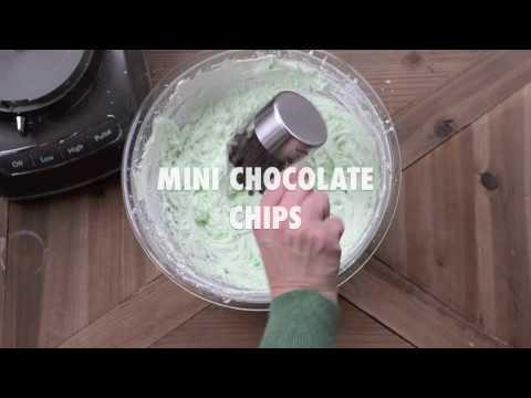 No-Bake Mint Chocolate Pie