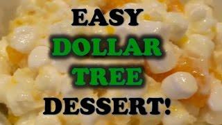 Dollar Tree Dessert | Easy Holiday Recipe For Ambrosia Salad