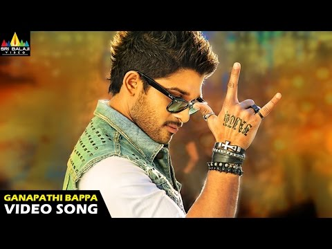 Iddarammayilatho Songs | Ganapathi Bappa Moria Video Song | Latest Telugu Video Songs | Allu Arjun