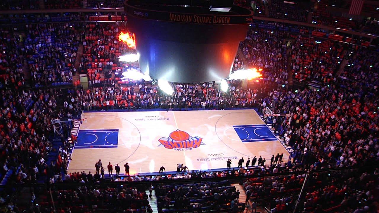 New York Knicks Home Opener 2015 Youtube