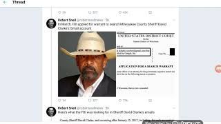 FBI Issues A Search Warrant For David Clarke's Gmail Account
