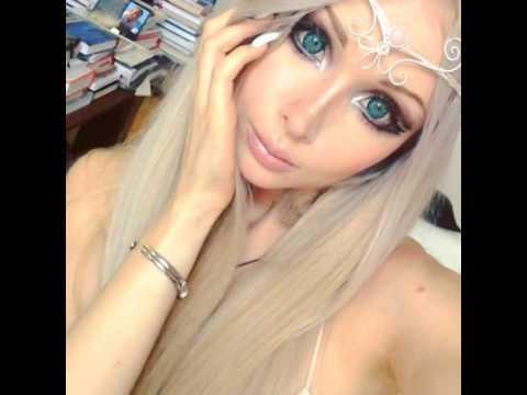 Valeria lukyanova youtube - Valeria allo specchio ...