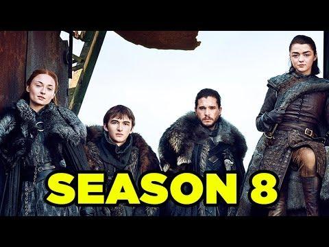 Game of Thrones SEASON 8  Everything We Know! #NewRockstarsNews
