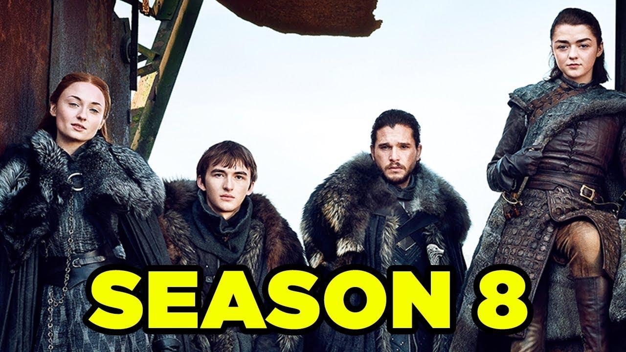 Game Of Thrones Season 8 Everything We Know Newrockstarsnews