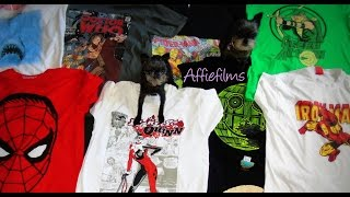 My GEEKY T shirt collection