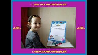 1. Sınıf Matematik Toplama Çıkarma Problemleri Çözüyoruz